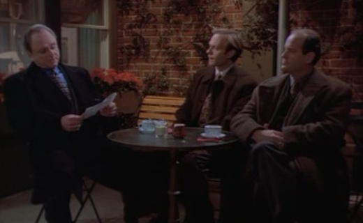 Frasier Season 3 Episode 15 - A Word to the Wiseguy
