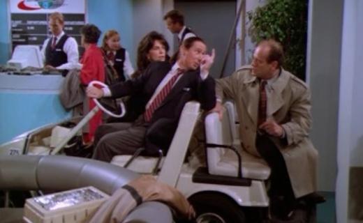 Frasier Season 3 Episode 10 - It's Hard to Say Goodbye if You Won't Leave