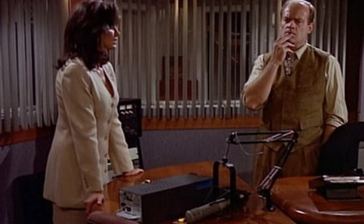 Frasier Season 3 Episode 7 - The Adventures of Bad Boy and Dirty Girl