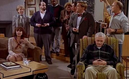 Frasier Season 3 Episode 6 - Sleeping With the Enemy
