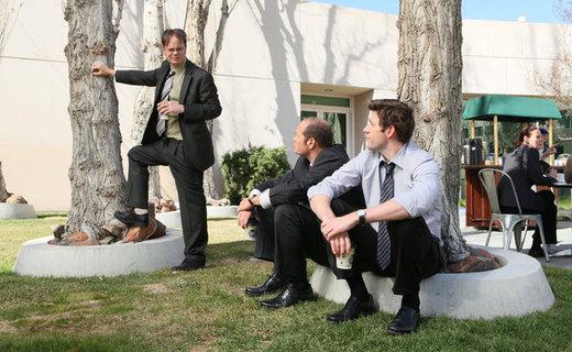 The Office Season 8 Episode 23 - Turf War