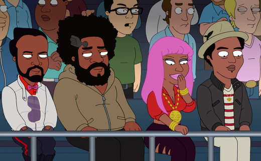 The Cleveland Show Season 4 Episode 2 - Menace II Secret Society