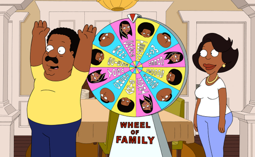 The Cleveland Show Season 4 Episode 23 - Wheel! Of! Family!