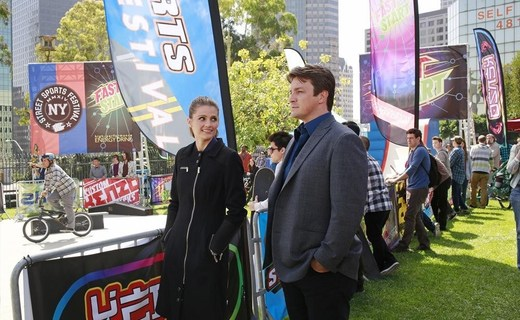 Castle Season 6 Episode 21 - Law & Boarder