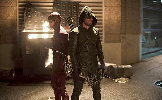 The Flash Season 1 Episode 8 - Flash vs. Arrow