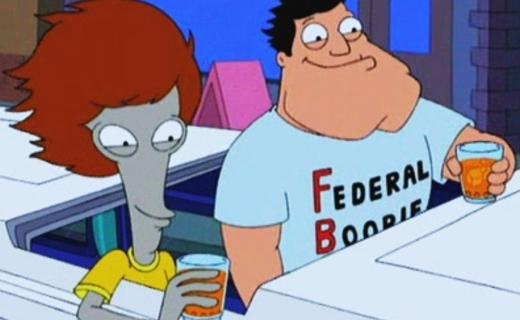 American Dad! Season 1 Episode 20 - Roger 'n Me
