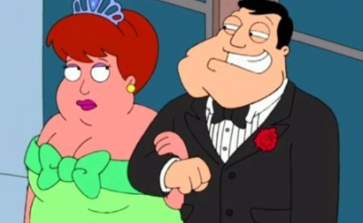 American Dad! Season 1 Episode 19 - It's Good to be the Queen
