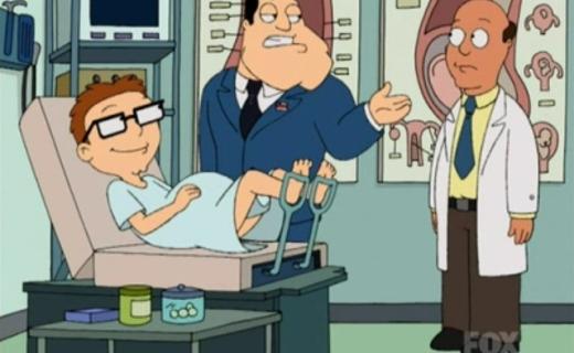 American Dad! Season 1 Episode 7 - Deacon Stan, Jesus Man