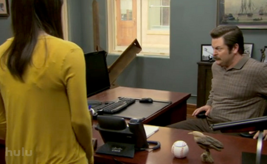 Parks and Recreation Season 2 Episode 21 - 94 Meetings