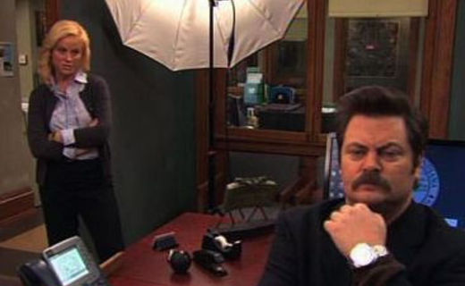Parks and Recreation Season 2 Episode 17 - Woman of the Year