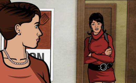 Archer Season 1 Episode 10 - Dial M for Mother
