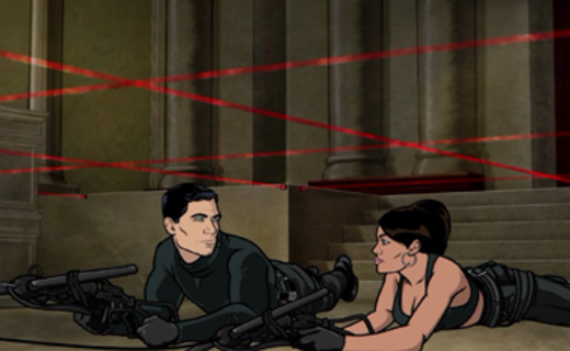 Archer Season 1 Episode 8 - The Rock