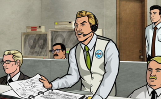 Archer Season 1 Episode 7 - Skytanic