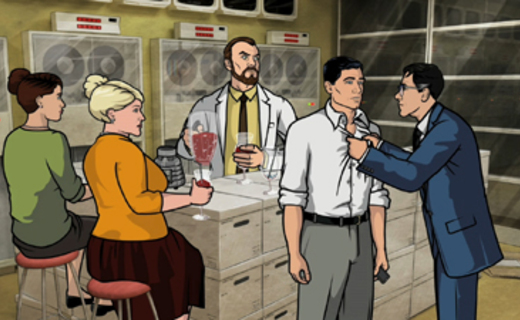 Archer Season 1 Episode 6 - Skorpio
