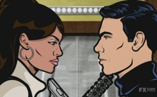 Archer Season 1 Episode 1 - Mole Hunt