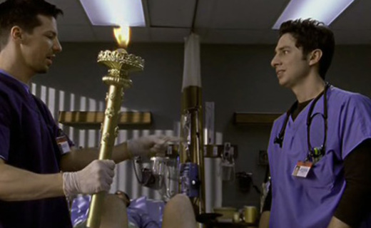 Scrubs Season 1 Episode 7 - My Super Ego