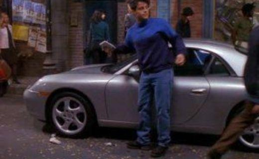Friends Season 6 Episode 5 - The One With Joey's Porsche