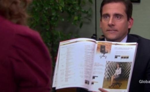 The Office Season 4 Episode 10 - Chair Model