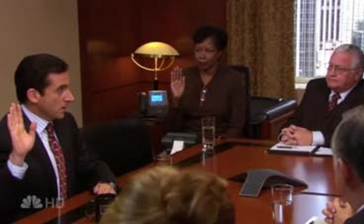 The Office Season 4 Episode 8 - The Deposition