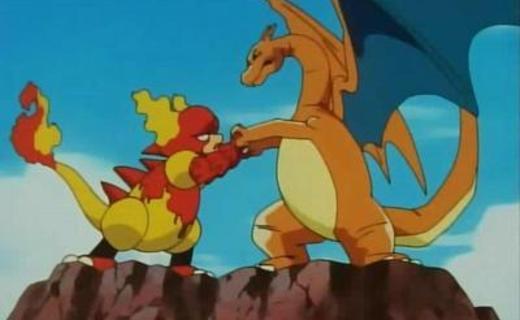 Pokemon Season 1 Episode 59 - Volcanic Panic