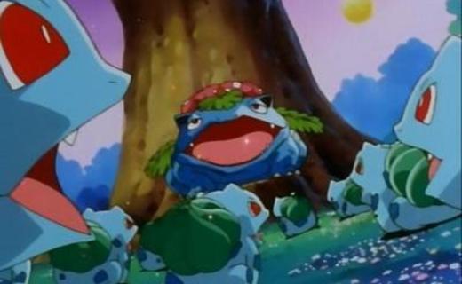 Pokemon Season 1 Episode 51 - Bulbasaur's Mysterious Garden