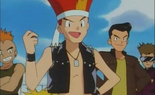 Pokemon Season 1 Episode 36 - The Bridge Bike Gang