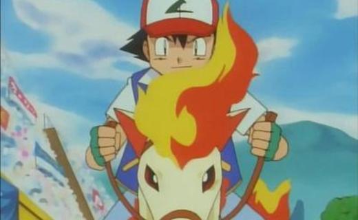 Pokemon Season 1 Episode 33 - The Flame Pokemon-athon!