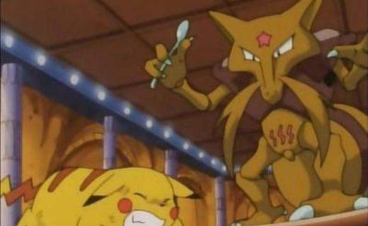Pokemon Season 1 Episode 22 - Abra And The Psychic Showdown