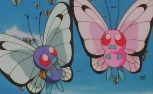 Pokemon Season 1 Episode 21 - Bye Bye Butterfree